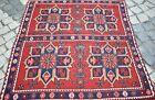Fabulous Antique Caucasian Sumac Kilim 44'' x 69'' Awesome Sumac Weave Kilim Rug