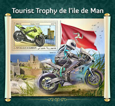 Djibouti Motorcycles Stamps 2018 MNH Isle of Man TT Yamaha Norton V4 1v S/S
