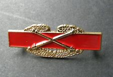 US ARMY COMBAT ARTILLERY AWARD LAPEL PIN BADGE 1.5 INCHES