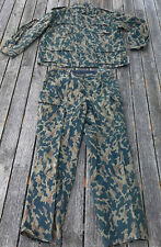 Soviet Russia VSR Camo Jacket/Trousers Large Size.
