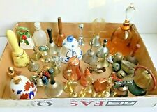 Large Lot of 35 Hand Bells + Misc. Bells