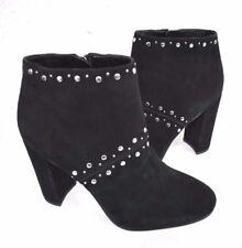 New Sam Edelman Chandler Studded Black Women's Booties Boots Size 8.5