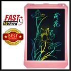 11'' Colorful Partial Erasing Doodle Pad Drawing Board LCD Writing Tablet Kids