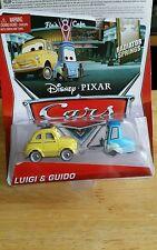 CARS  - LUIGI E GUIDO - Mattel Disney Pixar SODDISFATTI O RIMBORSATI mcqueen