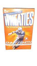Dallas Cowboys - Emmitt Smith Leading Rusher Wheaties Box