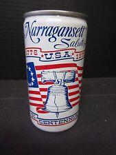 Narragansett Salutes 1779-1976 Bi-Centennial Beer Can
