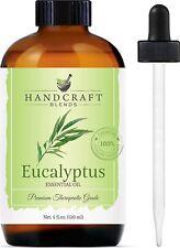 Handcraft Eucalyptus Essential Oil - 100% Pure and Natural - Premium Therapeutic