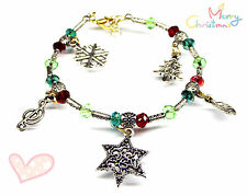 Clasp Misc Gemstones Beautiful +Fp Xmas Jewellery Christmas Bracelet Handcrafted