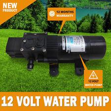 NEW 12 Volt 60 PSI Water Pressure Pump Trailer RV Caravan Camping 4.6Lt/m