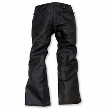 686 Reserved Raw Wax Mens Snowboard Pants  X-Large Black Wax Denim - RETAIL $230