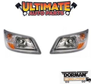 Headlight (Pair) Left and Right for 2006 to 2014 Hino