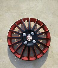 Wheel Cover 14 inch Ford Figo New 2015 - Set of 4pcs - Black Red