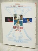 X Movie Animation Perfect Book CLAMP w/Poster Art Illustration Book KD69*