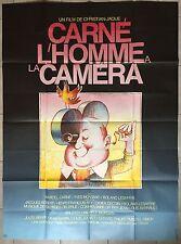Affiche CARNE L'HOMME A LA CAMERA Marcel Carné CHRISTIAN-JAQUE 120x160cm