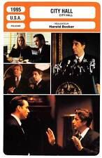 FICHE CINEMA : CITY HALL - Pacino,Cusack,Fonda,Becker 1995