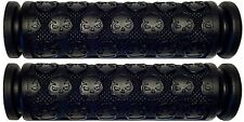 YAMAHA ATV GRIZZLY 125 250 350 400 450 550 660 700 BLACK THICK SKULL GEL GRIPS
