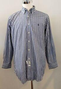 NWT Polo Ralph Lauren MENS YARMOUTH DRESS SHIRT M(15 1/2) #148