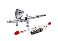 VEDA 0.2mm Airbrush 180 Tattoo Spray Gun + Coupling + 0.3 Nozzle Kit + Oring US