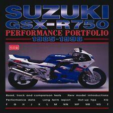 Suzuki GSX-R750 Performance Portfolio 1985-1996 (Brookl - Paperback NEW R.M. Cla