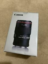 Canon EF 100mm F/2.8L Macro IS USM Lens (3554B002) - MINT CONDITION