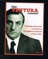 LINO VENTURA - CLASSIQUES - COFFRET 4 FILMS - 2013 - EN TRÈS BON  ÉTAT