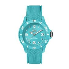 Ice-Watch Sixty Nine Medium Turquoise Silicone Band Womens Watch 014764