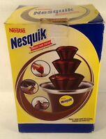 NESQUIK Chocolate Fondue Fountain make chocolate covered bananas or whatever