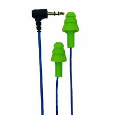 NEW Workinbuds Green/Blue Earplug Earphones: Noise Reduction Headphones For Work