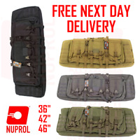 "Nuprol PMC Deluxe Soft Rifle Bag Case 36"" 42"" 46"" airsoft weapon field gun molle"