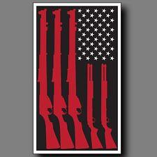 American Flag Guns Second Amendment Sticker Decal