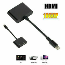 Lightning To HDMI Digital Cable 2 in1 Adapter Converter for iPhone X XS XS max