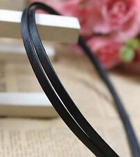 5 Metal Headband Covered Satin Hair Band 5mm for DIY Craft Pick Your Color