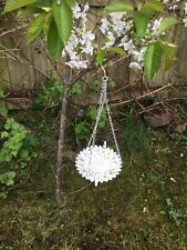 Bird Feeder/Bath Swinging/hanging  Delightful & Captivating. With Chains