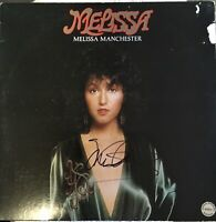 "Melissa Manchester Autographed Album ""Melissa"" COA CERTIFIED"