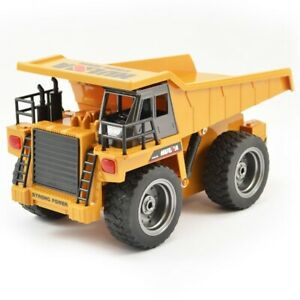 Huina 2.4G 6Ch Rc Dump Truck W/Die Cast Cab CY1540