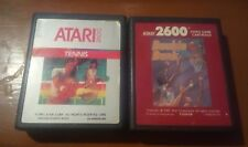 Pack Double dunk y Tennis, Atari 2600 PAL