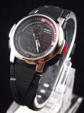 CASIO AQF-102W-1B OUTGEAR THERMOMETER WR Black Watch 100% Original + (Gift)