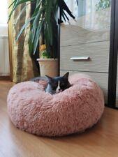 Comfy Dog Bed Super Soft Small Big Pet Basket Cat Sleeping Plush Relaxing Net