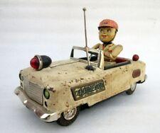 Vintage Alt Selten Batteriebetrieben Notfall Lkw Litho Blech Spielzeug TN Nomura