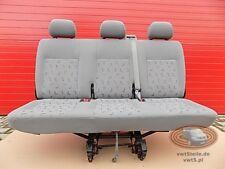 VW T5 Sitzbank LLL Sitz Sitze 3er SATZ SICHERHEITSGURT SITZHALTERUN 2. Sitzreihe