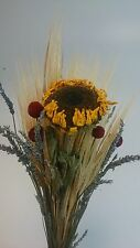Beautiful Dried Lavender sunflowers barleys craspedia mixed bundle Mother's Day
