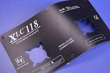 Electro-Voice Professional XLC118 Series Loudspeaker Jackplate Placard