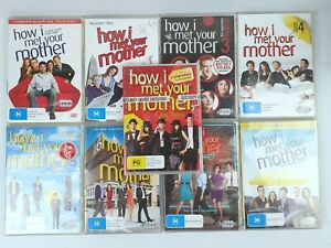 How i Met Your Mother Seasons 1 - 8 + Sealed Christmas Special DVD Region 4 PAL