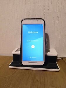 Motorola Moto G (3rd Generation) - 16GB - White (Unlocked) Smartphone USED