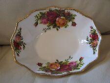 Vintage Royal Albert Porcelain Bone China Old Country Roses Soap Dish Pin Tray
