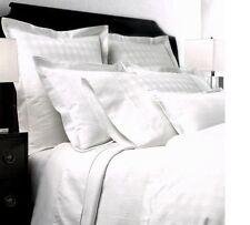 Ralph Lauren SUITE GLEN PLAID White 3P Full Queen Duvet Cover Shams Set