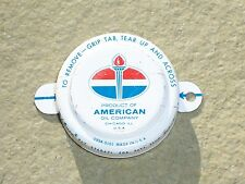 Vintage American Oil Barrel Bottle Cap Gas Service Station Can Advertising Rare