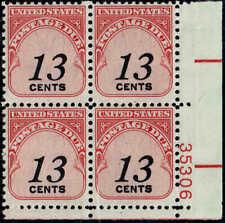 #J103 Pb 1985 13c Postage Due Shiny Gum Issue Mint-Og/Nh