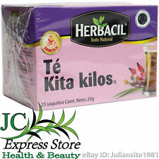 TE KITA KILOS HERBACIL BRONCOLIN 25 SAQUITOS REMOVE POUNDS TEA 25 BAGS