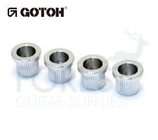 Gotoh TLB2 Bass guitar string ferrules chrome set of 4
